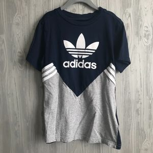 Youth Adidas Originals Trefoil T-Shirt Size S